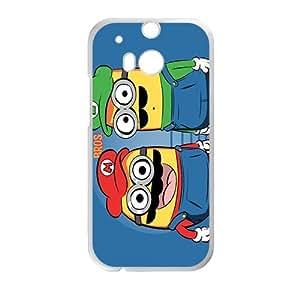 Super Minion Bro White HTC M8 case