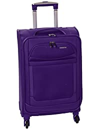 American Tourister Ilite Max Softside Spinner 21 Carry On Luggage, Purple