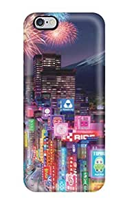 For CaseyKBrown Iphone Protective Case, High Quality For Iphone 6 Plus Tokyo City In Cars 2 Skin Case Cover