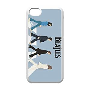 iPhone 5c Cell Phone Case White The Beatles ZVD Phone Case For Guys Plastic