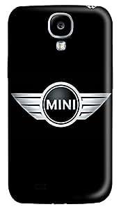 Samsung Galaxy S4 Case, S4 Case - Slim Ultra Fit 3D Print Case for Samsung Galaxy S4 I9500 Mini Car Logo 3 Case Back Cover Protector for Samsung Galaxy S4 I9500