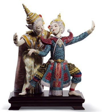 Lladro Thai Dancers by Lladro