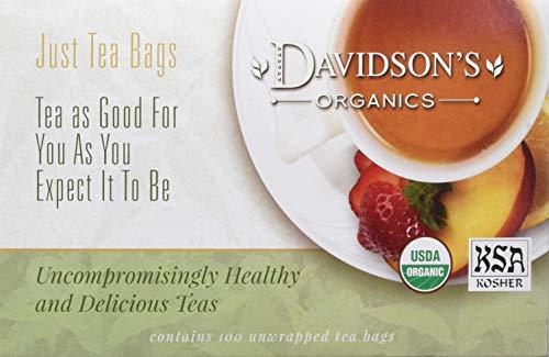 - Davidson's Tea Decaf English Breakfast, 100-Count Tea Bags