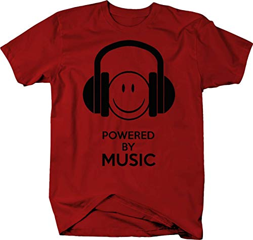 by Music Headphones boss Color Tshirt - Large ()