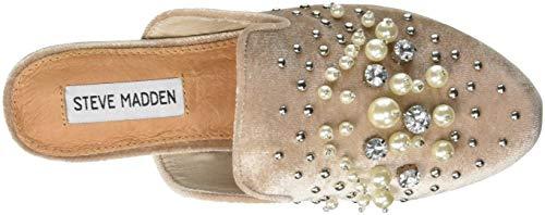 Sandals Pink Closed Pearls Toe Steve Women's 001 Blush Madden T4qFXg