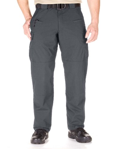 Etc Tactical Pant - 5.11 Men's STRYKE Tactical Cargo Pant with Flex-Tac, Style 74369, Charcoal, 38W x 34L
