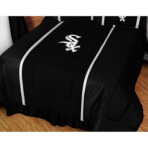 MLB Chicago White Sox King Comforter Sidelines Baseball Bed