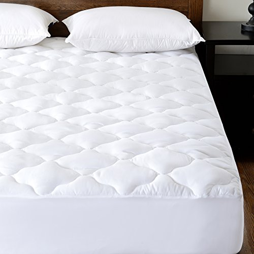 quilted waterproof mattress pad protector