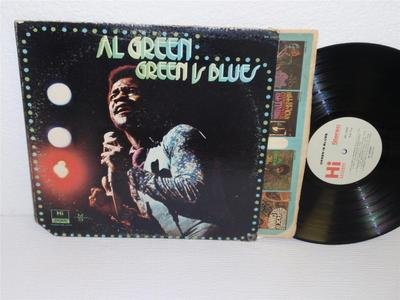 AL GREEN Is Blues LP Hi Records SHL 32055 stereo (1972) original album (Best Albums Of 1972)