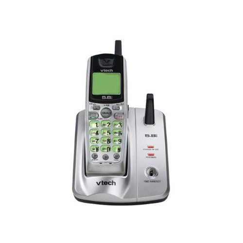amazon com vtech ia5824 5 8 ghz cordless phone w caller id rh amazon com vtech cordless phone manuals online vtech cordless phone manual cs6829-2