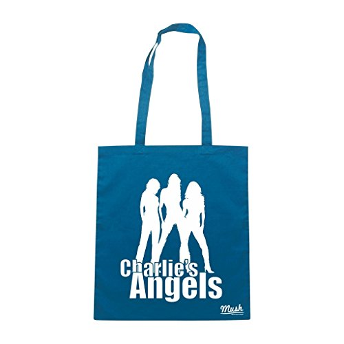 Borsa Charlies Angels - Blu Royal - Film by Mush Dress Your Style
