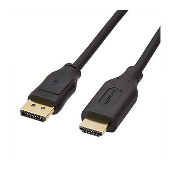 AmazonBasics HDMI Input to DVI Output (Not VGA) Adapter Cable, 3 Feet,Black