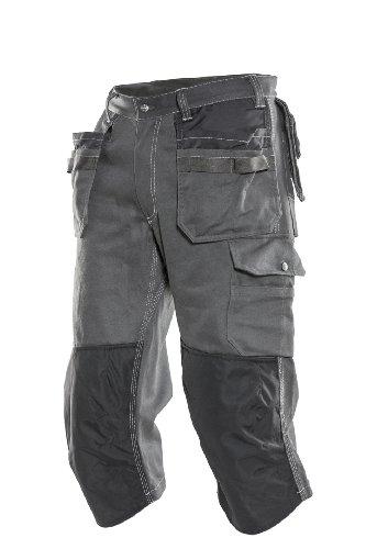 JOBMAN Workwear Ultimate Craftsman's Long Workshorts (38W, Dark Grey)