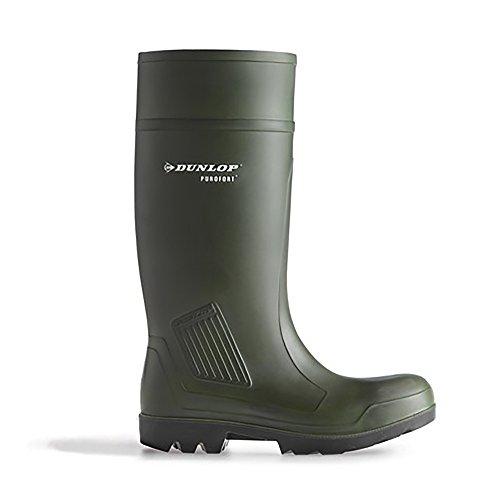 Dunlop Stivali da Lavoro Purofort Professionale Completa Sicurezza Verde Scuro S5 C462933 Nero(black)