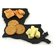 Custom Louisiana Slate Cutting Board, Serving Tray, or Cheese Board- Personalized with Laser Engraving