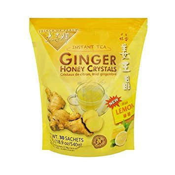 Prince of Peace® Instant Lemon Ginger Honey Crystals (30 Sachets) Pack of 3