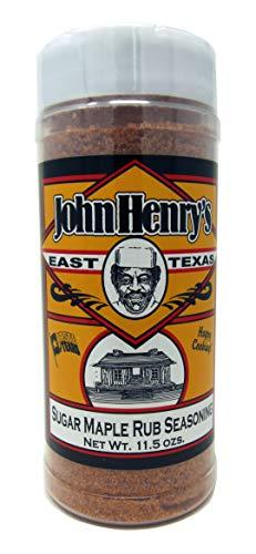 Brown Sugar Glaze - John Henry's Sugar Maple Rub 11.5 oz