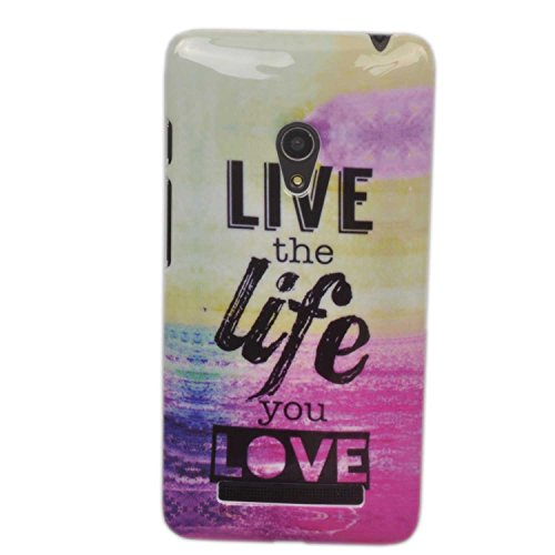 Einzige Slim Fit Hard Skin Case Cover for Asus ZenFone 5(Live Life) with Free Universal Screen-Stylus