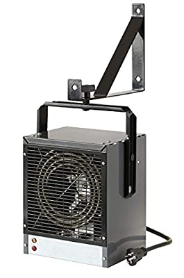 Dimplex DGWH4031G Garage and Shop Large 4000 Watt Forced Air, Industrial, Space Heater in, Gray/Black Finish (Renewed)