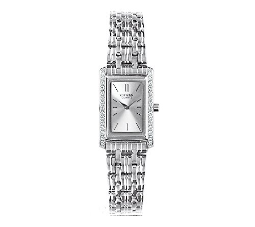 Citizen-Womens-Stainless-Steel-Watch-With-Silvertone-And-Crystal-Accents