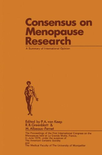 Consensus on Menopause Research: A Summary of International Opinion
