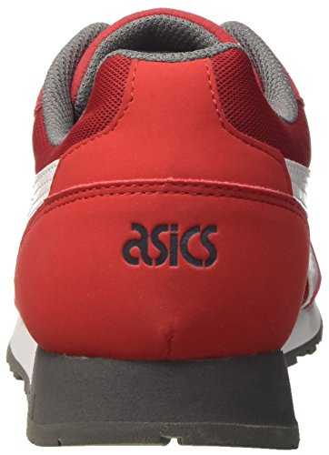 True Asics Sneakers Red Top White Rot 2301 Low Herren für Curreo qx1xr0wtP