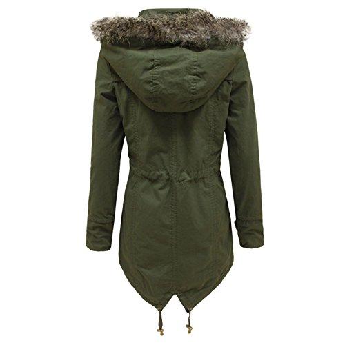 Fur Gamma 16 Imbottita Leggero Soul Vento Harper Donna Da Cappotto Brave Giacca A 8 Khaki Taglie pZzq7wT