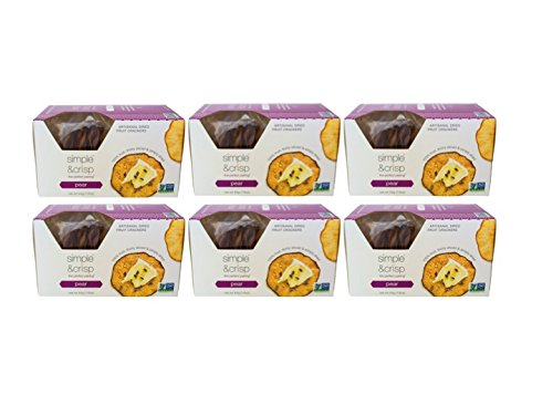Amazon.com: Simple & Crisp - Apple Artisanal Dried Fruit Crackers - 6pk bundle