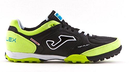 Joma - Zapatillas de fútbol sala para hombre Negro Black/Lime