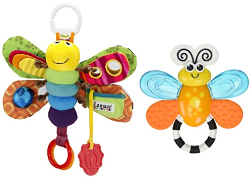 Sassy Flutterby Teether - 9