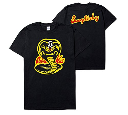 Best buy Cobra Kai Karate Dojo Short Sleeve T-Shirt (Extra Large, Black)