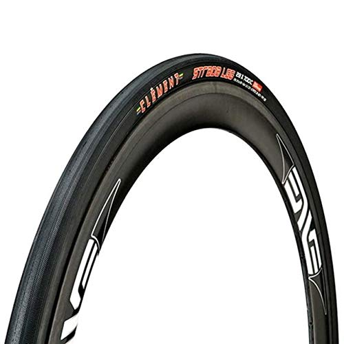 (Clement Cycling Clement Strada Lgg Tire with 700X25C Wire Clincher, Black)