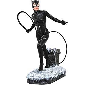 41iPj9OwLDL. SS300 DIAMOND SELECT TOYS DC Gallery: Batman Returns Catwoman PVC Figure, Multicolor