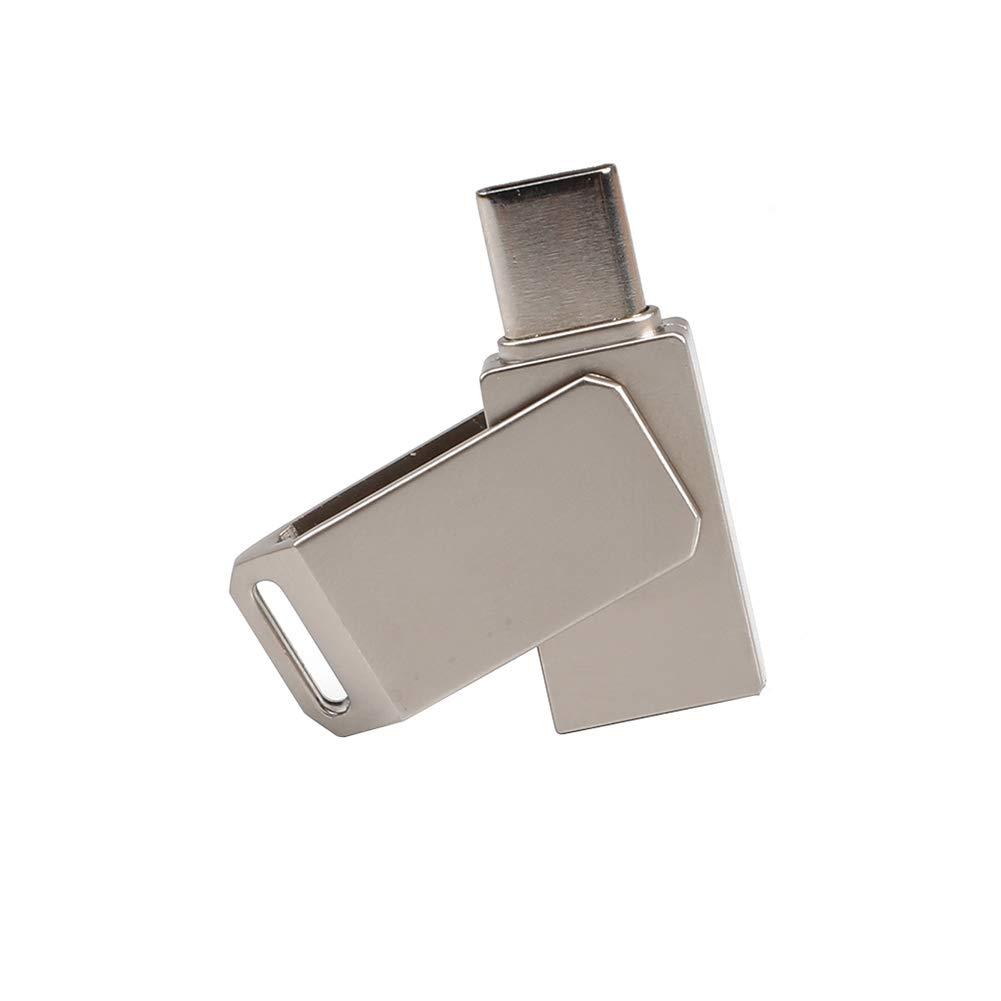 Shentesel Rotation Type C Male to USB 2.0 Female OTG Adapter Converter U Disk 64G