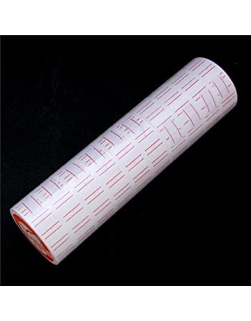 10 Rollos de Etiquetas de papel para pistola etiquetadora de precios MX-5500