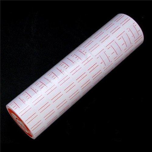 Rollos de Etiquetas de papel para pistola etiquetadora de precios MX