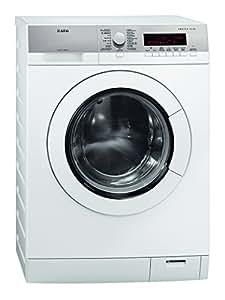 AEG L87495FL Independiente Carga frontal 9kg 1400RPM A+++ Color blanco - Lavadora (Independiente, Carga frontal, A+++, A, A, Color blanco)