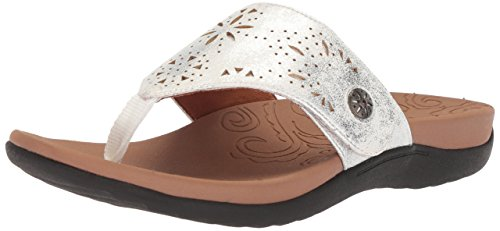 Sandal Button Silver Thong Ridge Women's Rockport Yxqa6a