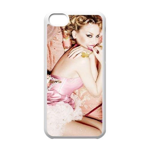 W2V64 Minogues kylie anniversaire cas de téléphone T3T8HE coque iPhone 5c cellulaire couvercle coque blanche IJ6XGV8IS