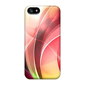 Cynthaskey Snap On Hard Case Cover Colorful Neon Light Protector For Iphone 5/5s