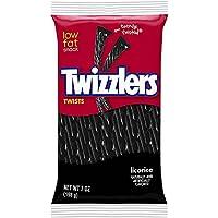 Twizzlers Black Licorice - 198 g