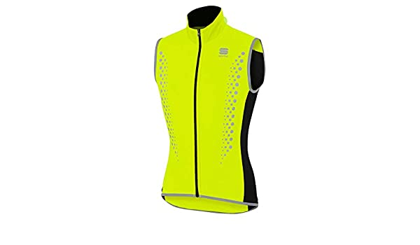 Sportful - Hot Pack Hi-Viz Vest, Color Amarillo, Talla L: Amazon.es: Deportes y aire libre