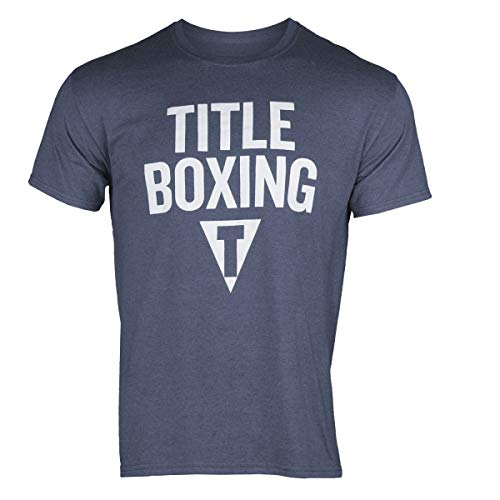 Title Boxing Classic Tee, Navy, X-Large