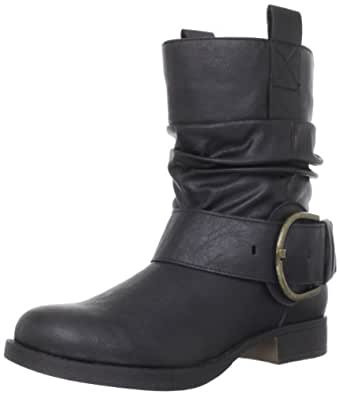 Madden Girl Women's Ablee Ankle Boot,Black Paris,9.5 M US