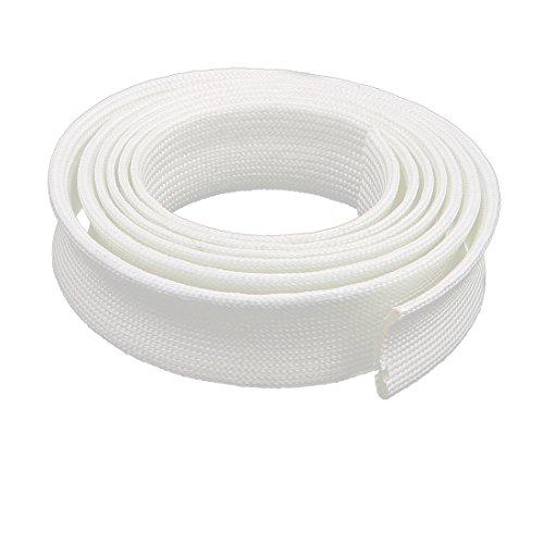 cal Wire Fiberglass PVC Insulation Sleeve 2M Long 20mm Dia ()