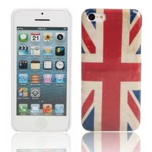 Plastic Protective Case for iPhone 5C England Flag