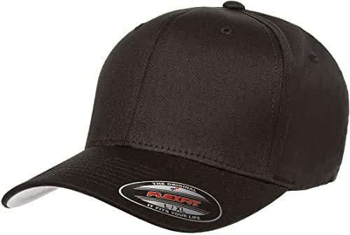 Premium Original Blank Flexfit V-Flexfit Cotton Twill Fitted Hat
