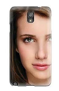 Jose de la Barra's Shop 6273883K68499516 First-class Case Cover For Galaxy Note 3 Dual Protection Cover Emma Roberts?wallpaper