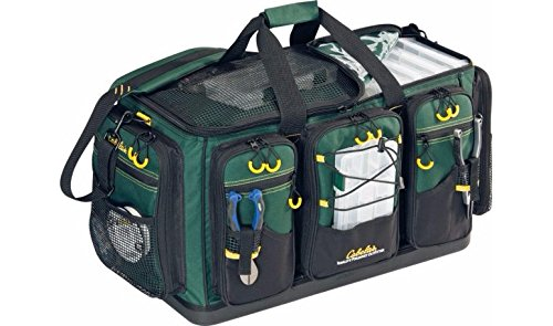 Advanced Anglers Super Magnum Tackle Bag with 12 Plano Tackle Boxes by Cabela's