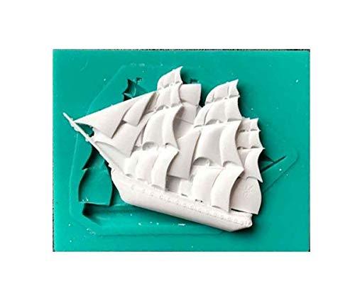 Sailboat Pirate Ship Silicone Mold